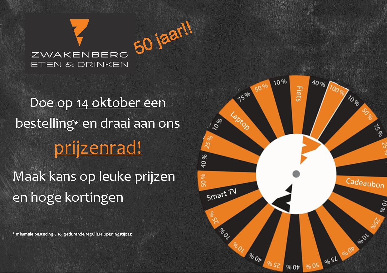Advertentie 50 jaar Zwakenberg