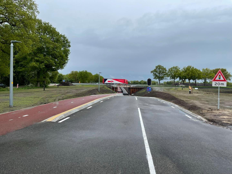 Tunnel Oude Twentseweg opengesteld voor verkeer