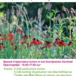 Open tuinen weekend Vechtdal-tuinen op 7 en 8 augustus 2021