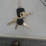 Update: sleutels zijn inmiddels gevonden